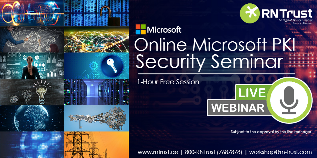 RNTrust - ONLINE MICROSOFT PKI SECURITY SEMINAR